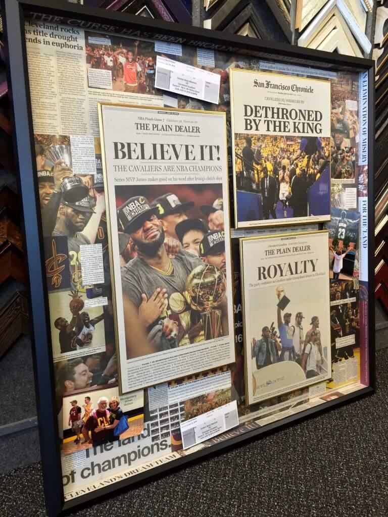 Blog frames unlimited cavaliers championship framing solutioingenieria Images